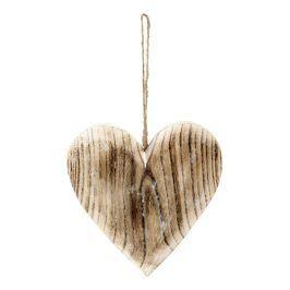 Autronic Srdce dřevěné SHA627478