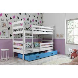 Falco Patrová postel Norbert bílá/modrá