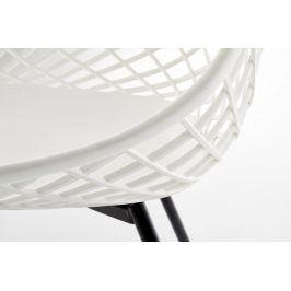 Halmar Jídelní židle K-330 - bílá