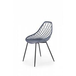 Halmar Jídelní židle K-330 - tmavě šedá