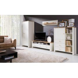 Falco TV stolek Bacardi R5 dub zlatý/crem