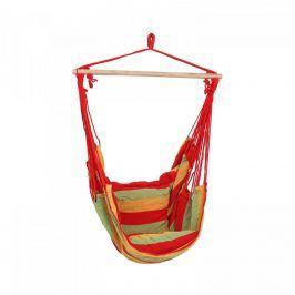 Idea Závěsné zahradní křeslo červené/zelené/žluté