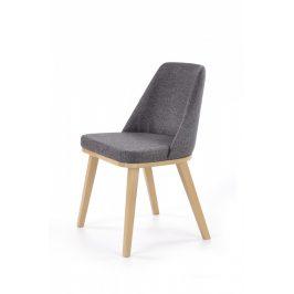Halmar Jídelní židle Pueblo - dub medový/Kreta 10