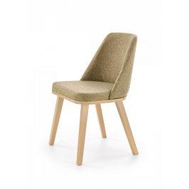 Halmar Jídelní židle Pueblo - dub medový/Kreta 11