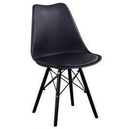 Casarredo Jídelní židle LAVA CAKE černá