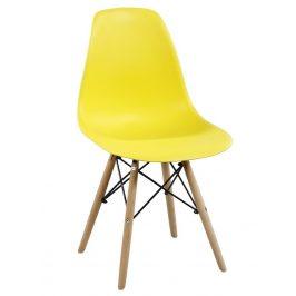Casarredo Jídelní židle MODENA II žlutá Židle do kuchyně