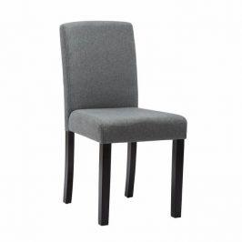 Tempo Kondela Jídelní židle SELUNA - šedá / černá