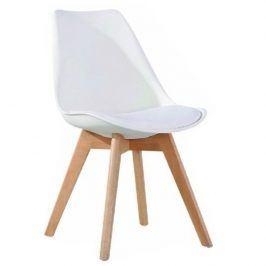 Tempo Kondela Jídelní židle BALI 2 NEW - bílá / buk