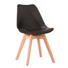 Tempo Kondela Jídelní židle BALI 2 NEW - černá / buk Židle do kuchyně