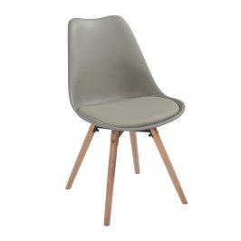 Tempo Kondela Jídelní židle Semer New - světlešedá / buk Židle do kuchyně