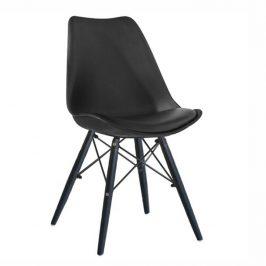 Tempo Kondela Jídelní židle KEMAL NEW - černá / dřevo