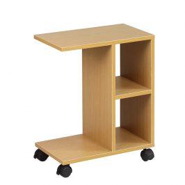 Tempo Kondela Příruční stolek ABBAS NEW - dřevo borovice Přístavné stolky