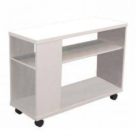 Tempo Kondela Příruční stolek Zoela New - bílá