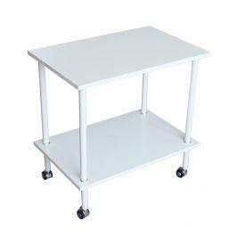 Tempo Kondela Příruční stolek LABON, matná bílá