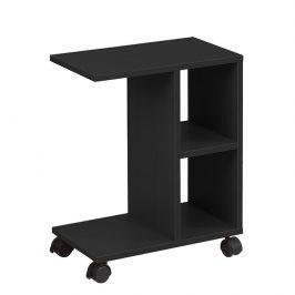 Tempo Kondela Příruční stolek ABBAS NEW - černá