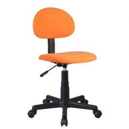 Tempo Kondela Dětská kancelářská židle SALIM - černá / oranžová