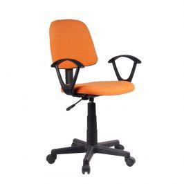 Tempo Kondela Kancelářská židle TAMSON - oranžová / černá