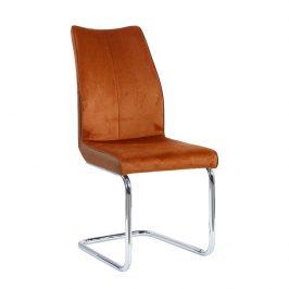 Tempo Kondela Jídelní židle FARULA - cihlová / cihlová Židle do kuchyně