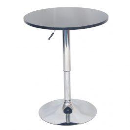 Tempo Kondela Barový stůl s nastavitelnou výškou BRANY New - černá