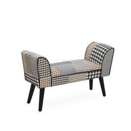 Tempo Kondela Designová lavice PEPITO NEW TYP 7 - látka patchwork