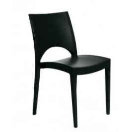 Stima Židle Paris Polypropylen antracite - černá