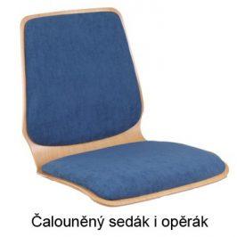 Alba Konferenční židle Kamila Čalouněný sedák i opěrák