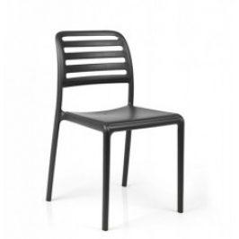 Stima Zahradní židle Costa Polypropylen antracite - černá