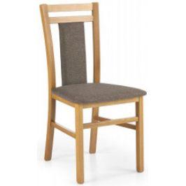 Halmar Jídelní židle Hubert 8 Olše/látka 609