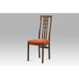 Autronic Jídelní židle BC-12481 WAL - ořech