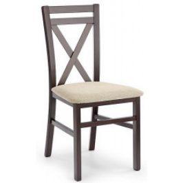 Halmar Jídelní židle DARIUSZ ořech tmavý/Vila 2