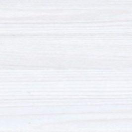 BRW Závěsná vitrína Porto SFW1W Modřín sibiu světlý