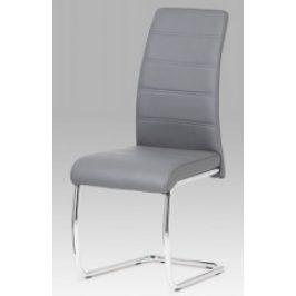 Autronic Jídelní židle DCL-407 GREY - šedá