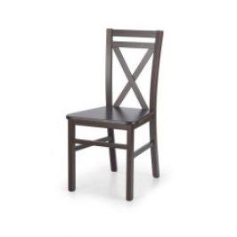 Halmar Dřevěná židle Dariusz 2 Tmavý ořech