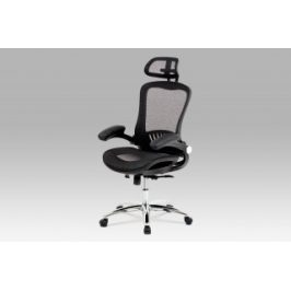 Autronic Kancelářská židle KA-A185 BK - černý sedák