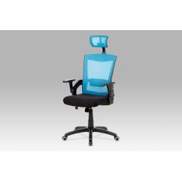 Autronic Kancelářská židle KA-G216 BLUE - modrá