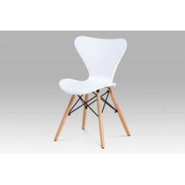 Autronic Jídelní židle CT-742 WT - bílá