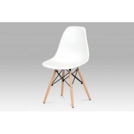 Autronic Jídelní židle CT-758 WT - bílá