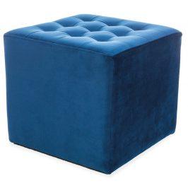 Casarredo Taburet LORI VELVET granátově modrá