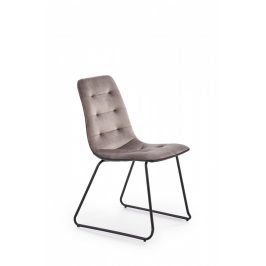 Halmar Jídelní židle K-321 - šedá
