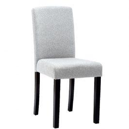 Tempo Kondela Jídelní židle SELUNA - světle šedá/černá