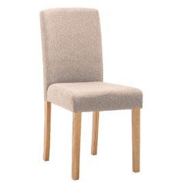 Tempo Kondela Jídelní židle SELUNA - béžová/buk
