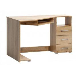 Falco Rohový psací stůl Fatra 18 pravý dub wotan