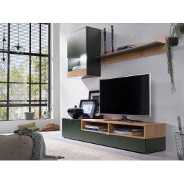 Falco Obývací stěna Robin zelená/lefkas