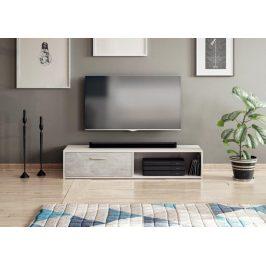Falco TV stolek Skip bílá/beton