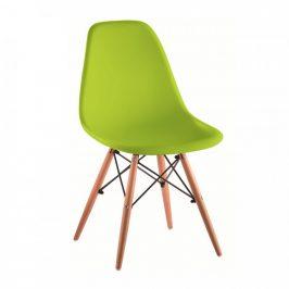 Tempo Kondela Židle CINKLA 3 NEW - zelená / buk