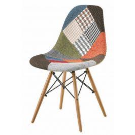 Casarredo Jídelní židle PATTY buk/patchwork
