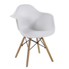 Casarredo Jídelní židle SHELL II bílá