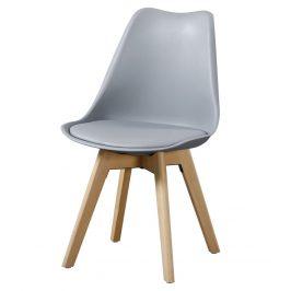Casarredo Jídelní židle CROSS II šedá