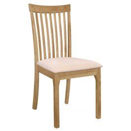 Casarredo Jídelní čalouněná židle LIPTOV dub/krém