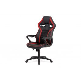 Autronic Kancelářská židle KA-G406 RED